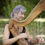 19:20 Uhr: Lore Schätzlein - Harfe